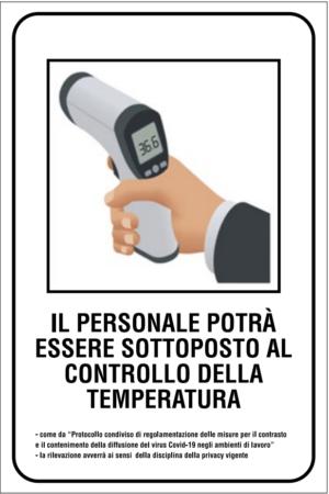 cartello misura temperatura