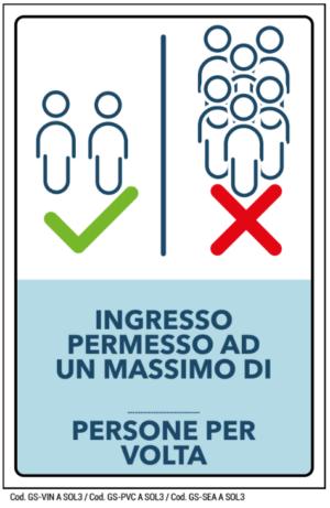 INGRESSO PERMESSO AD UN MASSIMO DI