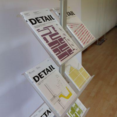 espositore porta riviste
